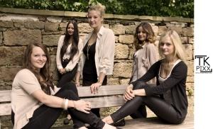 Sidney, Hanna, Alexa, Elena, Anna (v.l.n.r)