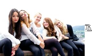 Hanna, Elena, Alexa, Sidney, Anna (v.l.n.r.)